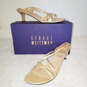 STUWART WEITZMAN sz 8 champagne heel